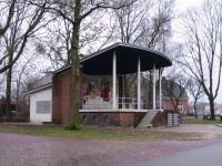 Muziekkoepel en pompinstallatie Emmen